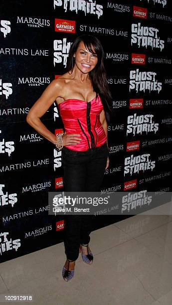Lizzie Cundy attends the Ghost Stories Press Night Party held on July 14 2010 at the St Martins Lane Hotel in London England