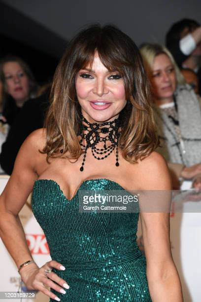 Lizzie Cundy attends the National Television Awards 2020 at The O2 Arena on January 28 2020 in London England
