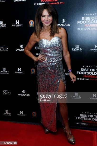 Lizzie Cundy Attends the premiere of Rise of the Footsoldier 4 Marbella out in cinemas amp digital HD from Friday 8th November at the Troxy London UK...
