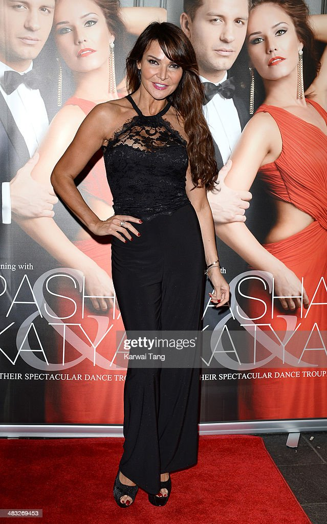 Lizzie Cundy attends the VIP preview evening for 'Katya & Pasha' held at the Lyric Theatre on April 7, 2014 in London, England.