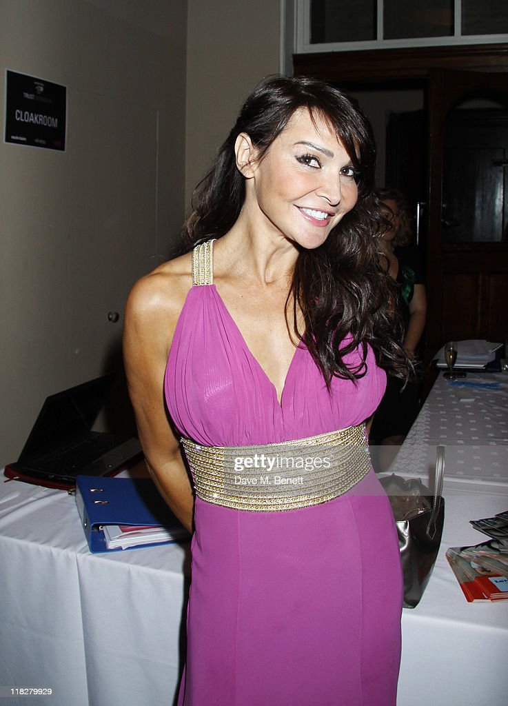 Lizzie Cundy attends Trust In Fashion at One Mayfair on the 29 June,2011in London,England.