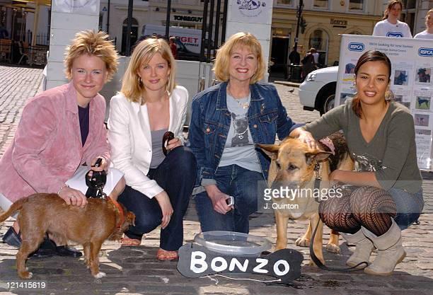 Lizzie Greenwood Becky Jago Liza Goddard and Liz Bonnin