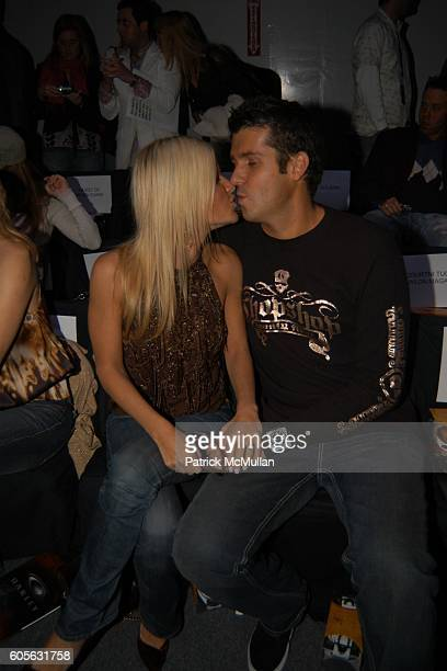 Lizzie Grubman and Chris Stern attend OAKLEY Fall 2006 Fashion Show at The Atelier at Bryant Park on February 4 2006 in New York