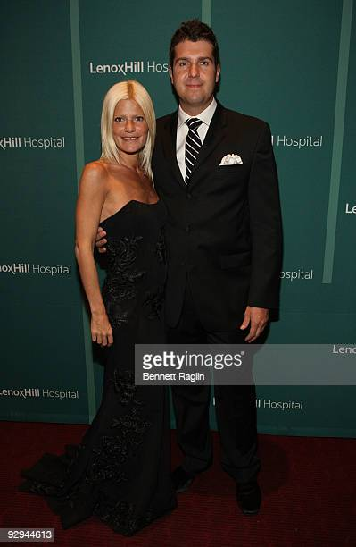Lizzie Grubman and Chris Stern attend Steppin' Out the Lenox Hill Hospital Autumn Ball at The WaldorfAstoria on November 9 2009 in New York City
