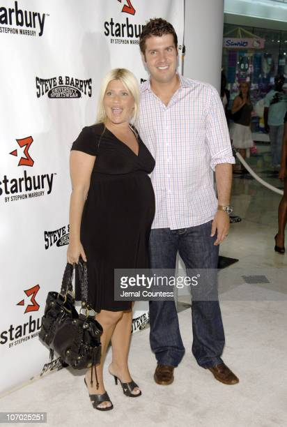 Lizzie Grubman and Chris Stern during Stephon Marbury and Steve and Barry's Introduce Starbury Clothing Line Arrivals at Steve and Barry's in New...