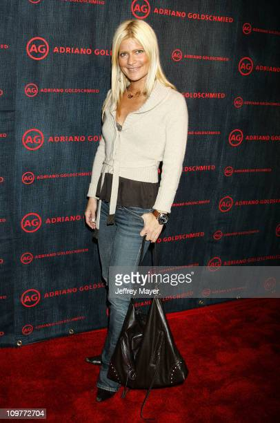 Lizzie Grubman during AG Jeans 1st Anniversary Party Arrivals at AG on Robertson in Los Angeles California United States