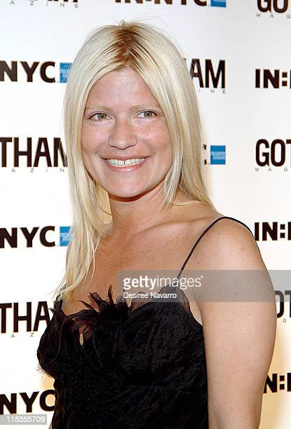 Lizzie Grubman during Gotham Magazine's 5th Anniversary Party at Cipriani's 23rd Street in New York City New York United States