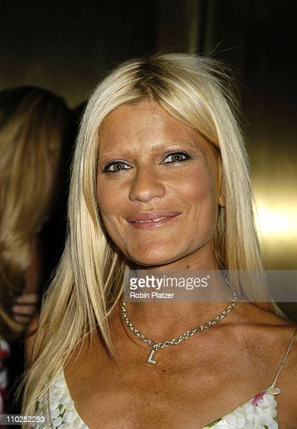 Lizzie Grubman during Olympus Fashion Week Spring 2006 Baby Phat Fashion Show Arrivals at Radio City Music Hall in New York City New York United...