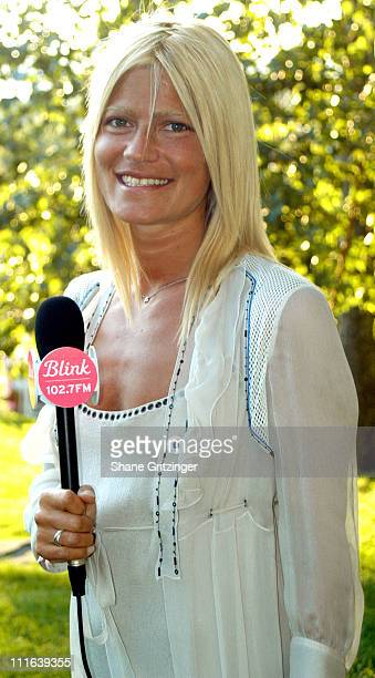 Lizzie Grubman during VH1 Save the Music Foundation Benefit at Home of Jaci Wilson and Morris L Reid in East Hampton New York United States