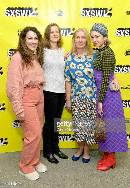 Lizzie Shapiro Sabine Schenk Anja Murmann and Annabelle Attanasio attend the 'Mickey and the Bear' Premiere during the 2019 SXSW Conference and...