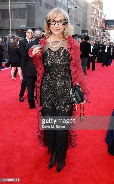 Lizzie Spender attends the Laurence Olivier Awards at The Royal Opera House on April 13, 2014 in London, England.