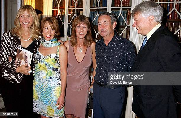 Lizzie Spender Cathy Letts Netty Mason Nick Mason and guest attend the book launch party for Lizzie Spenders new book Wild Horse Diaries at 15...
