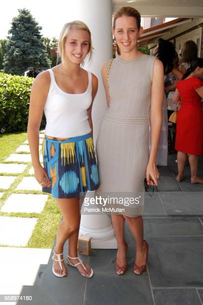 Lizzie Sturr and Jacqueline Sackler attend Valentino Luncheon and Special Presentation of the Fall/Winter 2009 Collection to benefit City Harvest at...