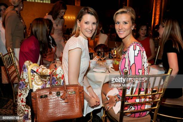 Lizzie Tisch and Abby Manning attend FASHION SHOW and LUNCHEON for AKRIS at Cipriani 42nd Street on May 14 2009 in New York City