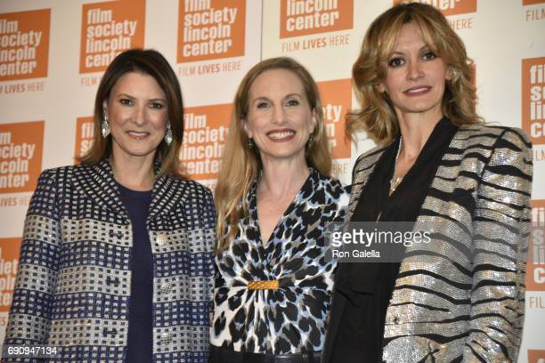 Lizzie Tisch Wendy Whelan and Ulla Parker attend Restless Creature Wendy Whelan Opening Night Screening on May 24 2017 at Elinor Bunin Munroe Film...