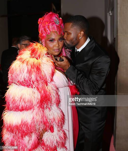 Lizzo and Frank Ocean attend The 2019 Met Gala Celebrating Camp: Notes on Fashion at Metropolitan Museum of Art on May 06, 2019 in New York City.