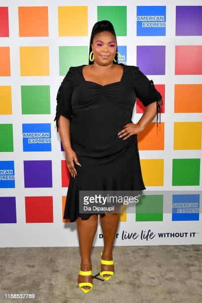 Lizzo attends American Express' NYC Pride Kickoff Event on June 26 2019 in New York City