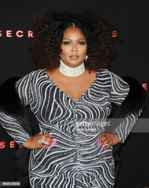 Lizzo attends Spotify's inaugural Secret Genius Awards at Vibiana Cathedral on November 1 2017 in Los Angeles California
