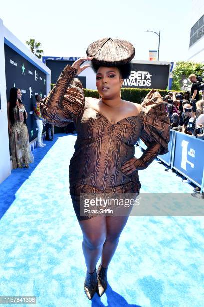 Lizzo attends the 2019 BET Awards at Microsoft Theater on June 23, 2019 in Los Angeles, California.