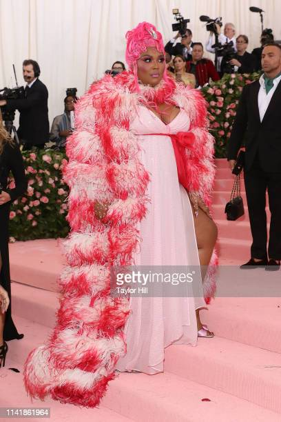 Lizzo attends the 2019 Met Gala celebrating Camp Notes on Fashion at The Metropolitan Museum of Art on May 6 2019 in New York City