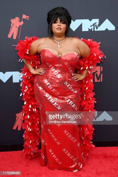 Lizzo attends the 2019 MTV Video Music Awards at Prudential Center on August 26 2019 in Newark New Jersey