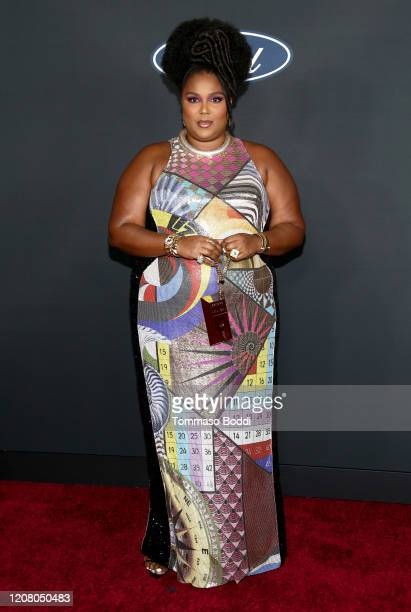 Lizzo attends the 51st NAACP Image Awards Presented by BET at Pasadena Civic Auditorium on February 22 2020 in Pasadena California