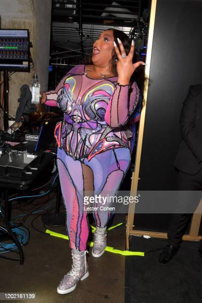 Lizzo attends the 62nd Annual GRAMMY Awards at STAPLES Center on January 26 2020 in Los Angeles California