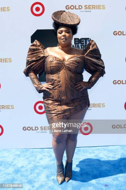 Lizzo attends the Pantene Style Stage at the 2019 BET Awards at the 2019 BET Awards at Microsoft Theater on June 23, 2019 in Los Angeles, California.