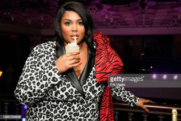 Lizzo attends the Warner Music PreGrammy Party at the NoMad Hotel on February 7 2019 in Los Angeles California
