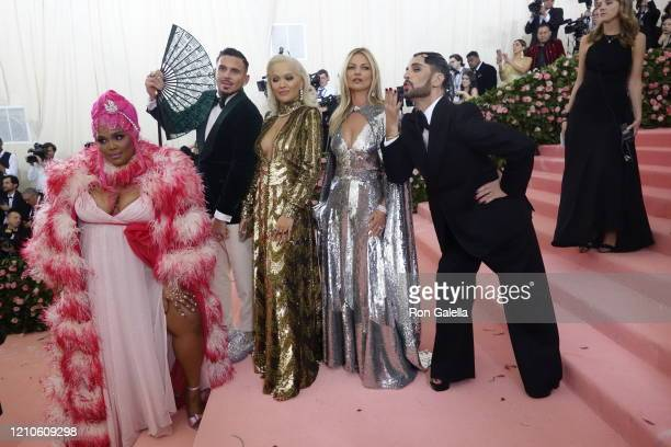Lizzo, Char Defrancesco, Rita Ora, Kate Moss and Marc Jacobs attend Met Gala Celebrating Camp: Notes On Fashion - Arrivals at the Metropolitan Museum...