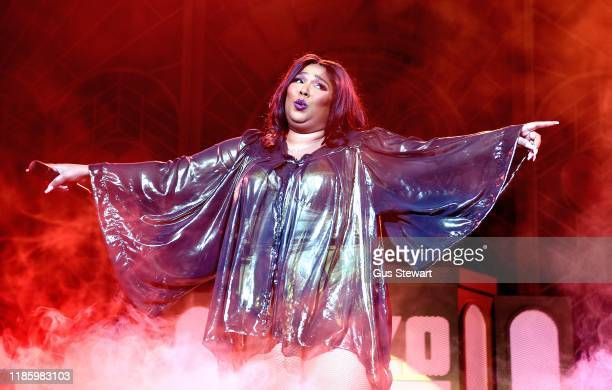 Lizzo performs at O2 Academy Brixton on November 06, 2019 in London, England.