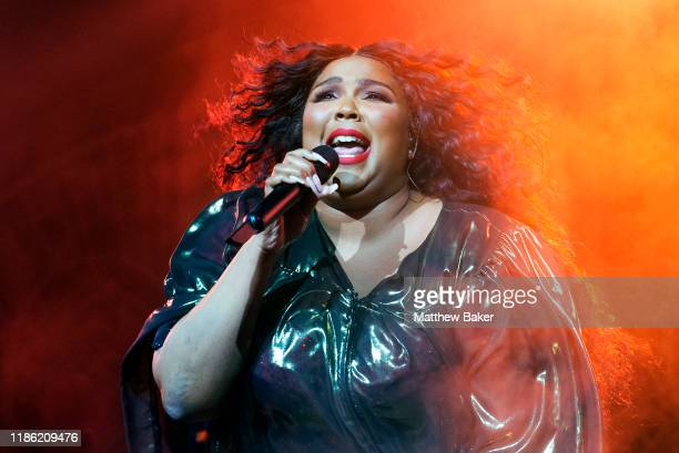Lizzo performs at O2 Academy Brixton on November 07, 2019 in London, England.