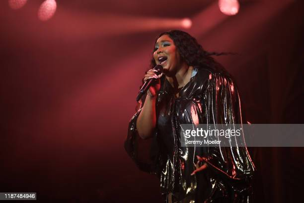 Lizzo performs at Palladium on November 13 2019 in Cologne Germany