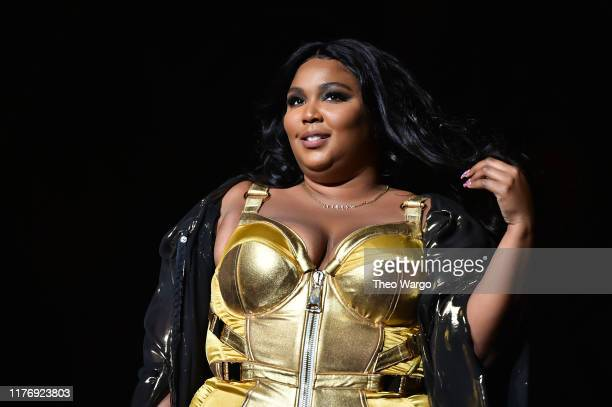 Lizzo performs at Radio City Music Hall on September 24 2019 in New York City