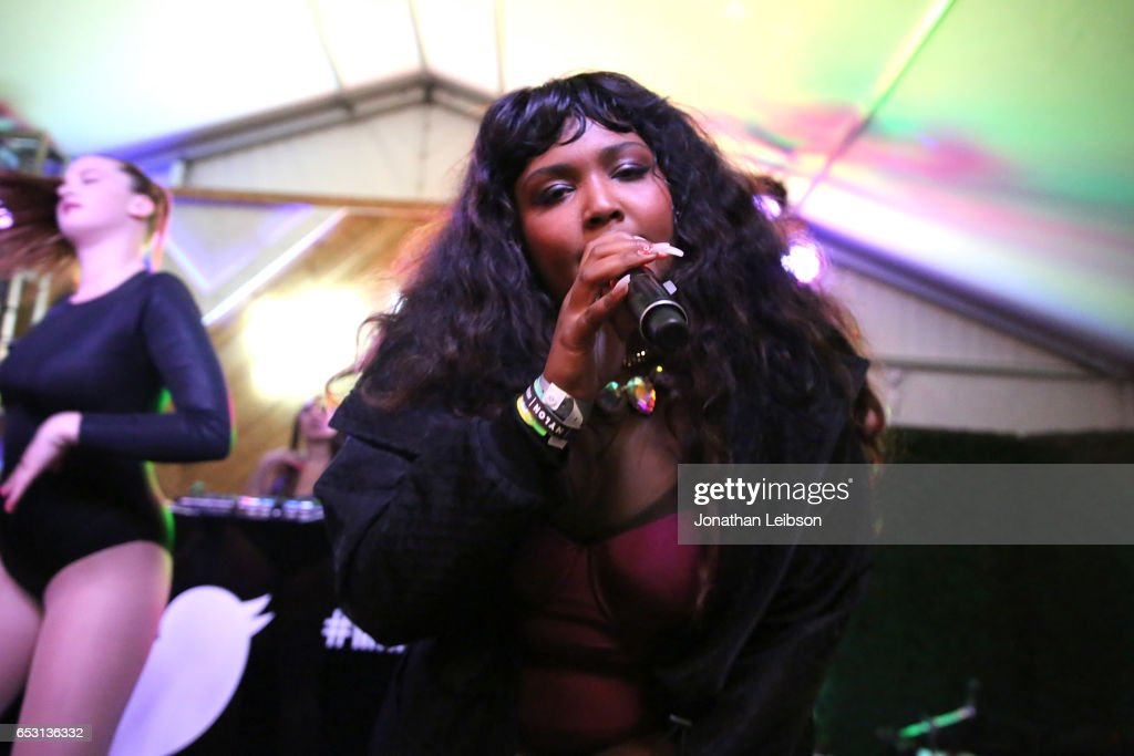 Lizzo performs at the NYLON And The Hulu Original The Handmaid's Tale Celebrate SXSTYLE At #TwitterHouse at Bar 96 on March 13, 2017 in Austin, Texas.