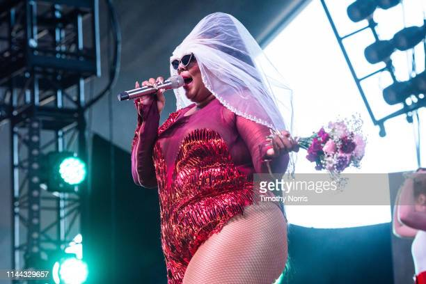 Lizzo performs during the 2019 Coachella Valley Music And Arts Festival on April 21 2019 in Indio California