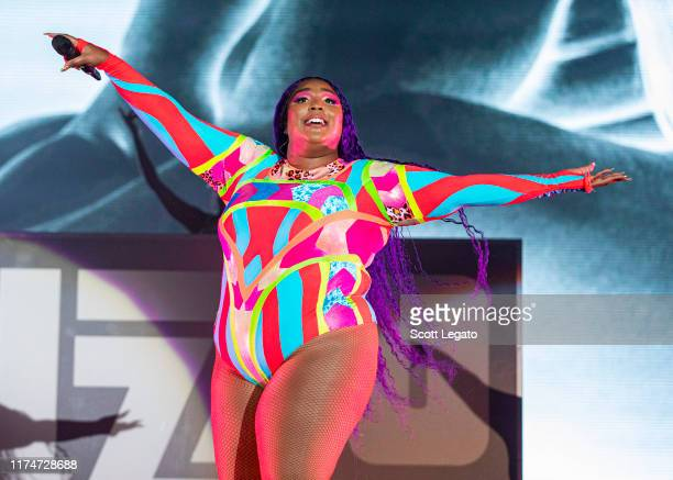 Lizzo performs on day 1 of Music Midtown at Piedmont Park on September 14 2019 in Atlanta Georgia