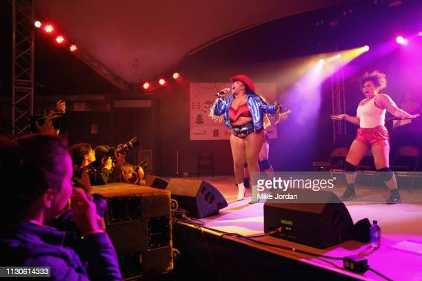 Lizzo performs onstage at Ticketmaster during the 2019 SXSW Conference and Festivals at Stubb's Bar-B-Q on March 14, 2019 in Austin, Texas.