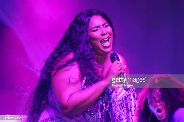 Lizzo performs onstage during Bustle's 2019 Rule Breakers Festival at LeFrak Center at Lakeside on September 21 2019 in Brooklyn New York