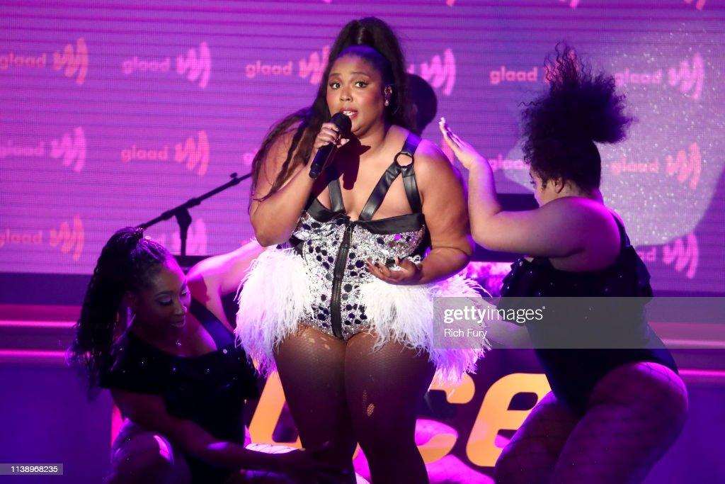 30th Annual GLAAD Media Awards Los Angeles - Inside : Nachrichtenfoto
