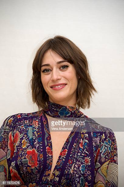 "Lizzy Caplan at the ""Masters of Sex"" Press Conference at the Four Seasons Hotel on September 29, 2016 in Beverly Hills, California."