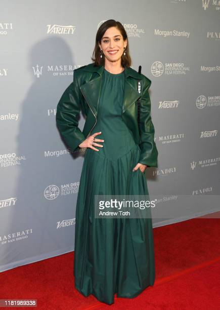 Lizzy Caplan attends Night of the Stars during the San Diego International Film Festival at Pendry San Diego on October 18, 2019 in San Diego,...