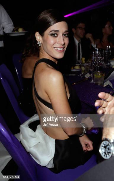 Lizzy Caplan attends the 66th Annual Primetime Emmy Awards Governors Ball held at Los Angeles Convention Center on August 25, 2014 in Los Angeles,...