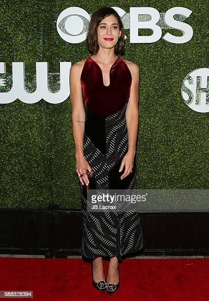 Lizzy Caplan attends the CBS CW Showtime Summer TCA Party at Pacific Design Center on August 10 2016 in West Hollywood California