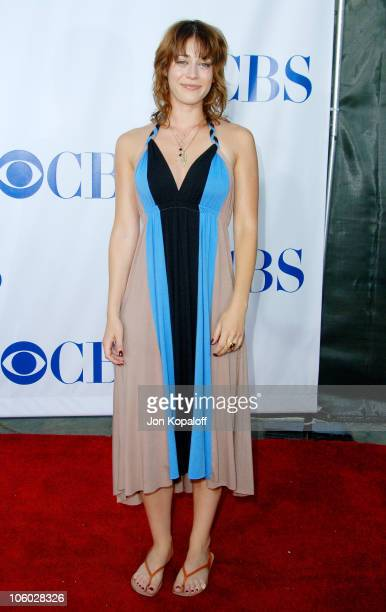 Lizzy Caplan during CBS 2006 TCA Summer Press Tour Party at Rosebowl in Pasadena California United States