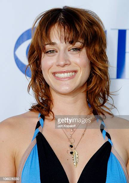 Lizzy Caplan during CBS 2006 TCA Summer Press Tour Party at Rosebowl in Pasadena, California, United States.