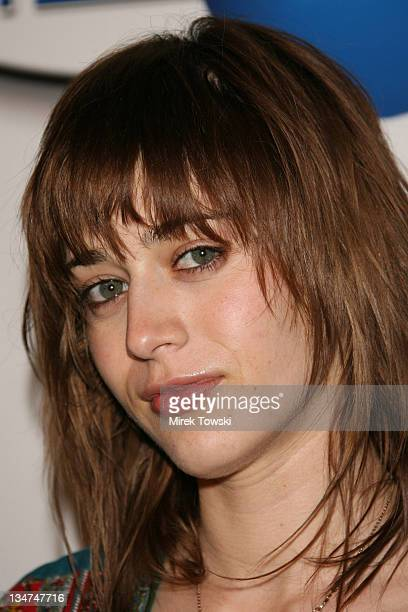Lizzy Caplan during In2TV AOL and Warner Bros broadband network launch party at The Museum of Television Radio in Beverly Hills California United...