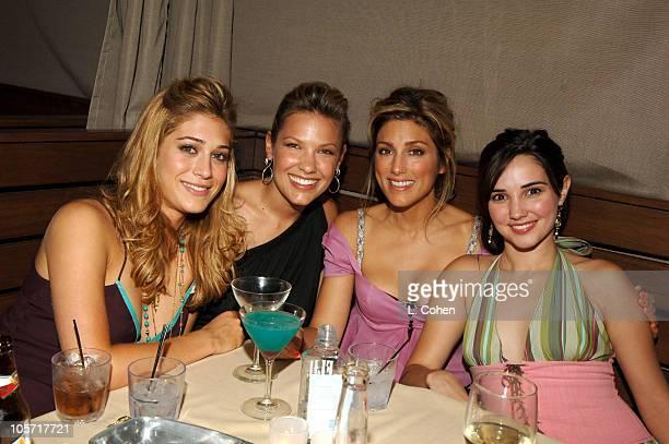 Lizzy Caplan Kiele Sanchez Jennifer Esposito and Laura Breckenridge of Related