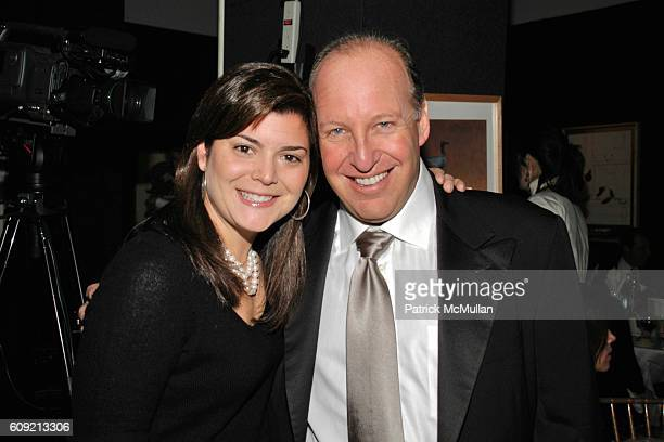 Lizzy Cole and Steven Schonfeld attend LIVING BEYOND BELIEF Benefit in Honor of KENNETH COLE at National Arts Club on February 9 2007 in New York City