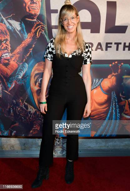 Lizzy Cooperman attends the Alamo Drafthouse Los Angeles Big Bash Party at Alamo Drafthouse Cinema on August 08 2019 in Los Angeles California